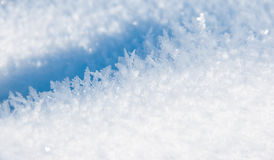Snow texture Stock Photos