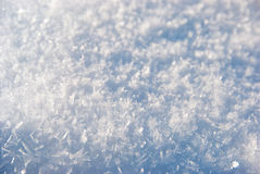 Snow texture. Snow close-up texture. You can view single snowflakes in large size photo Royalty Free Stock Photography