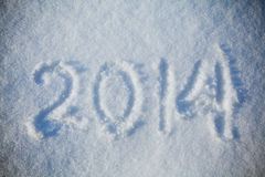 Snow 2014 texture  abstract  backgrounds Stock Photo