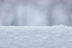 Snow Texture Closeup Background Royalty Free Stock Photography