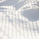 Snow texture with shadows Royalty Free Stock Photo