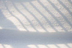 Snow texture with shadows Royalty Free Stock Photography