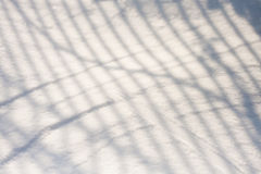 Snow texture with shadows Stock Images
