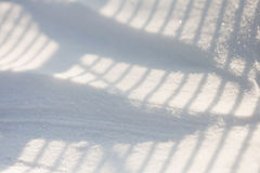 Snow texture with shadows Royalty Free Stock Image