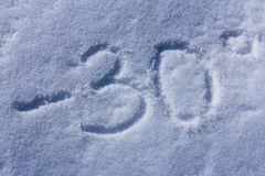 Snow textured  background Royalty Free Stock Images