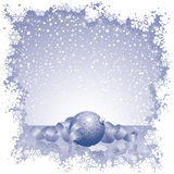 Snow Theme stock photo