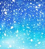 Snow theme background 1 Royalty Free Stock Image