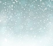 Snow theme background 6 Stock Images