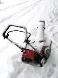 Snow thrower Royalty Free Stock Images