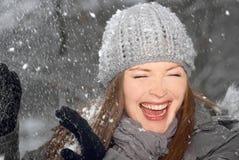 Snow time Stock Image