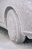 Snow tire Royalty Free Stock Photo