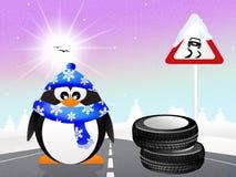 Snow tires Royalty Free Stock Photo