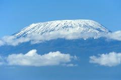 Snow on top of Mount Kilimanjaro Stock Photography