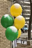 Snow Topped Balloons Royalty Free Stock Photo