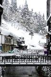 Snow town Royalty Free Stock Photo