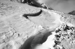 Snow_track Immagini Stock Libere da Diritti