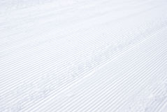 Snow track detail Stock Photography