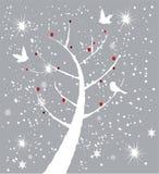Snow Trees Stock Photography