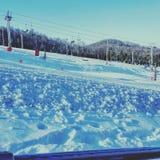 Snow Tubing Royalty Free Stock Image