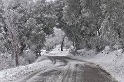 Snow Tunnel Stock Photos