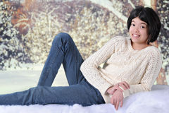 Snow Tween Stock Photography