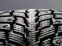Snow tyre Stock Image
