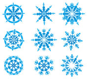 Snow_vector set Stock Images