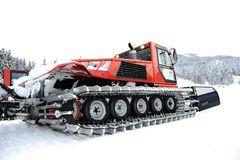 Snow vehicle Royalty Free Stock Photo