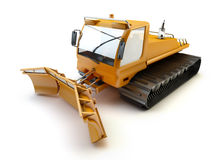 Snow vehicle isolated Royalty Free Stock Image