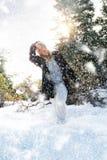 Snow walk Royalty Free Stock Photo