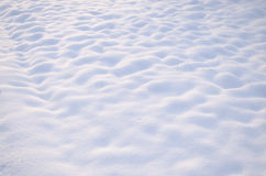 Snow wave Stock Photography