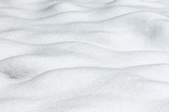 Snow - Wave pattern Royalty Free Stock Photos