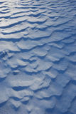 Snow waves Royalty Free Stock Photography