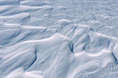 Snow waves texture Stock Images