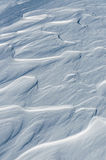 Snow waves texture Stock Photo