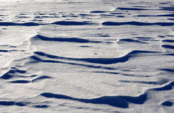Snow waves texture Royalty Free Stock Image