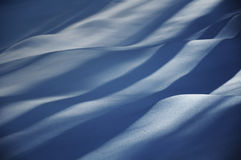 Snow Waves Stock Photography
