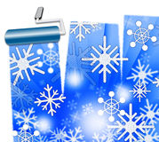 Snow Weather Represents Meteorological Wintertime And Outlook Royalty Free Stock Photos