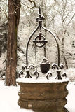 Snow well Royalty Free Stock Images