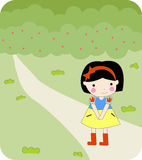 Snow white Royalty Free Stock Photography