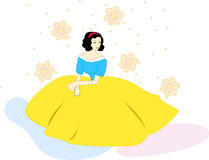Snow white Royalty Free Stock Image