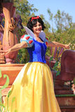 Snow White at Disneyland Stock Images
