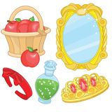 Snow White Fairy Fairy Tale Elements Royalty Free Stock Images