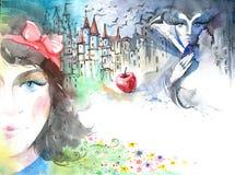 Snow White Royalty Free Stock Photo
