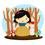 Snow White Stock Photo