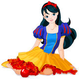 Snow White Girl Stock Photos