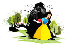 Snow White Royalty Free Stock Images