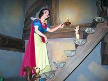 Snow White. Inside attracting Snow White.  Disneyland Paris Royalty Free Stock Photo