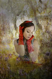 Snow White photo illustration Stock Photos