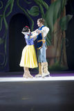 Snow White and Prince Charming Happily Ever. GREEN BAY, WI - MARCH 10: Snow White and Prince Charming Happily Ever in skates at the Disney on Ice Treasure Trove Royalty Free Stock Image